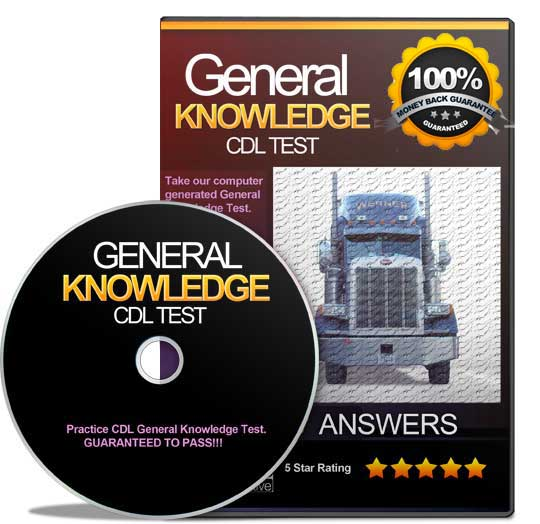 Cdl general knowledge test answers pdf